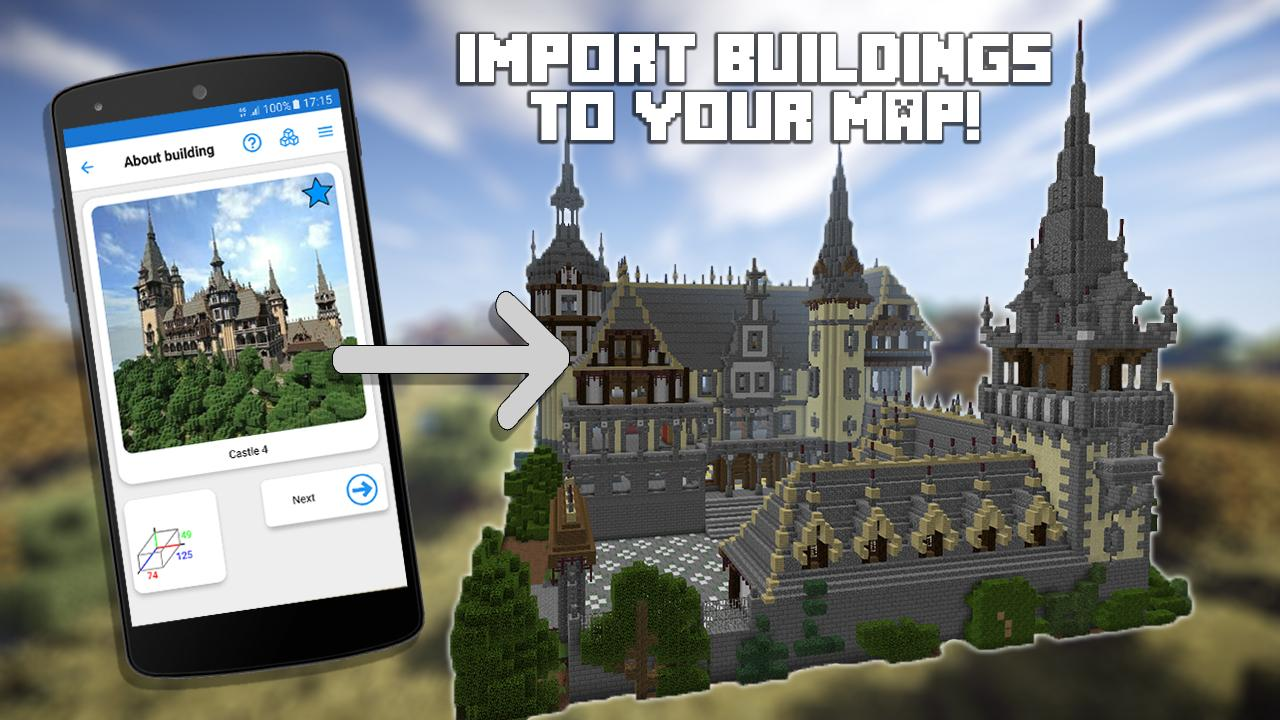Builder for minecraft pe 136 apk download android entertainment apps builder for minecraft pe 136 screenshot 9 malvernweather Image collections