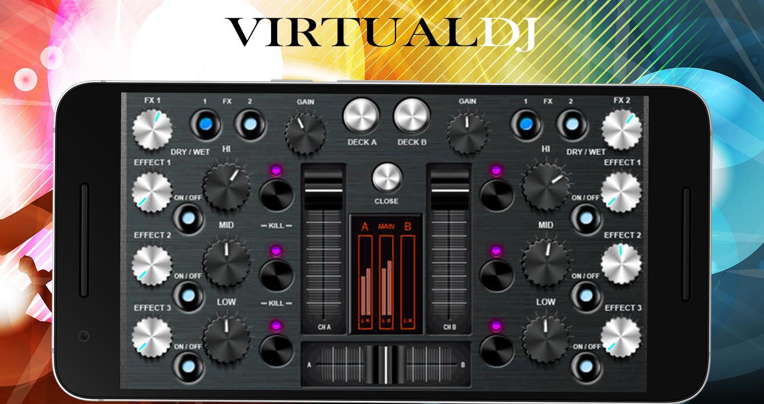 Virtual DJ Mixer 8🎛 Djing Song Mixer & Controller 6 08 APK Download
