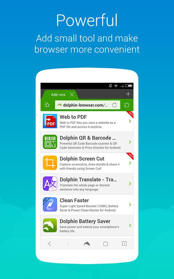 Dolphin Browser Express: News 11 5 08 APK Download - Android