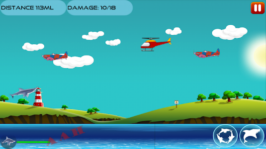 Angry Shark 1.0.4 screenshot 13