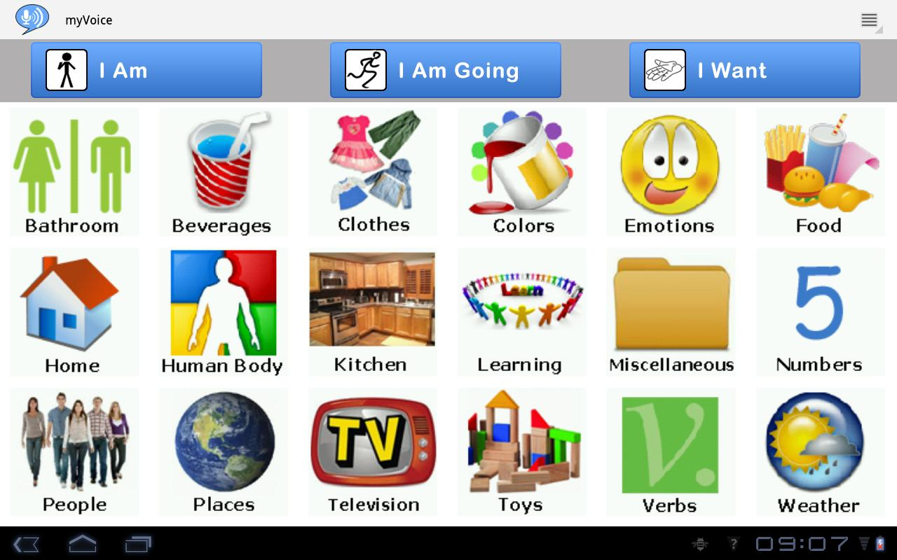 AAC Autism myVoiceCommunicator 4.3 APK Download - Android ...