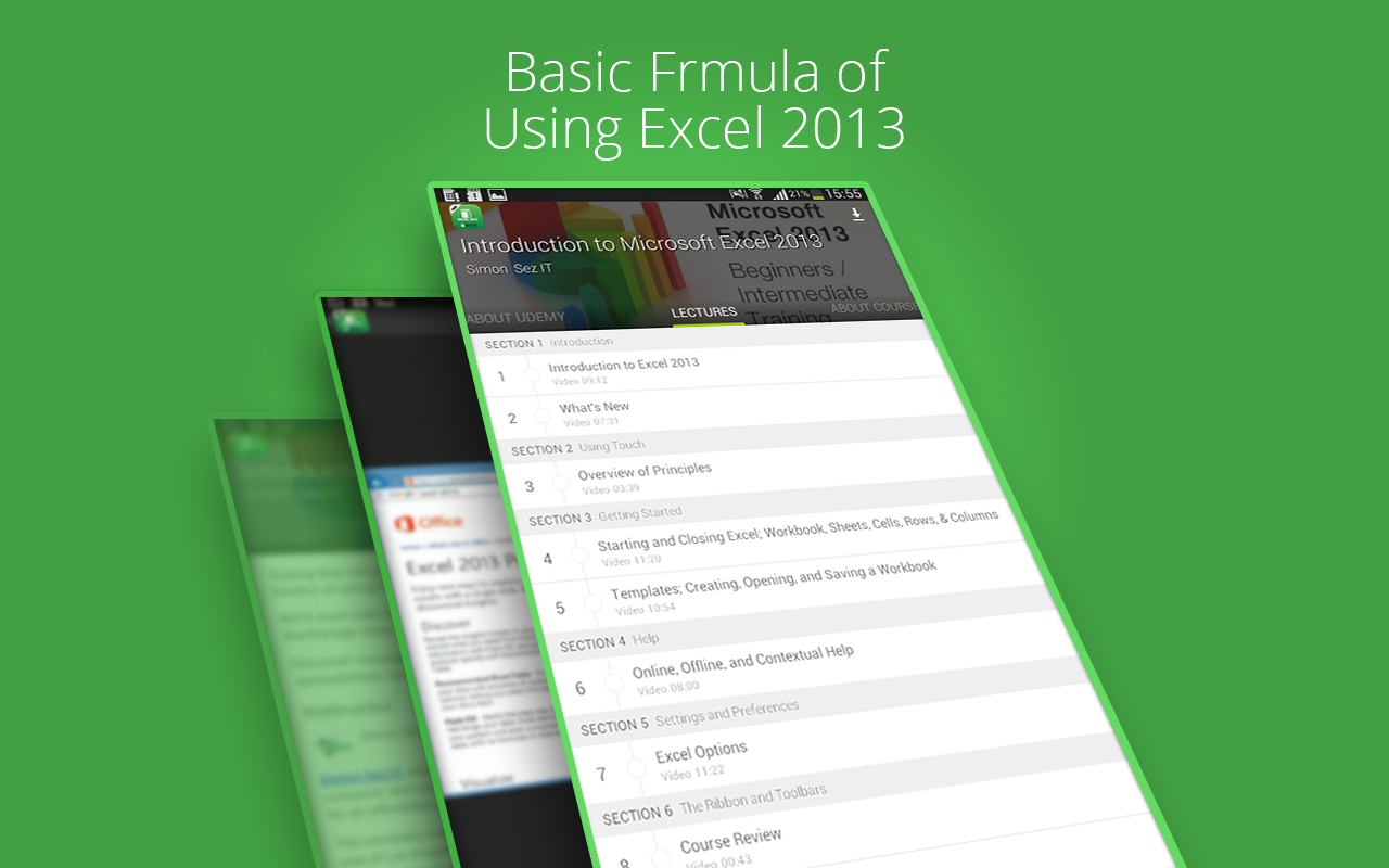 Basic Excel 2013 :Udemy Course 1 9 APK Download - Android