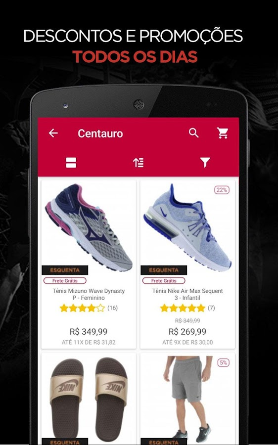 Centauro 1.9.7 APK Download - Android Shopping Apps 7acfe2957caf3
