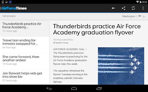 Air Force Times  screenshot 5