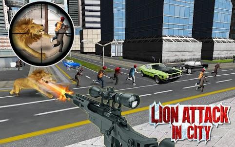 Monster Lion Attack 1.2 screenshot 2
