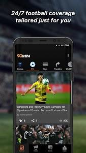 90min - Live Soccer News App  screenshot 1