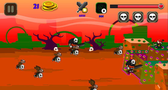 Monster Attack on Fort 1.4 screenshot 3