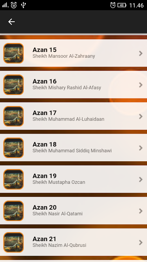Azan Muslim Al-Moazin 2018 6 0 APK Download - Android Music & Audio Apps