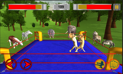 Real Animal Ring Fighting 1.0 screenshot 5