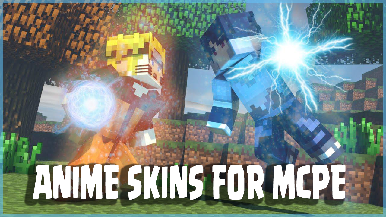 Anime Skins For MCPE APK Download Android Entertainment Apps - Skins para minecraft pe bleach
