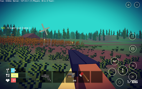 Pixel Day - Unturned Z 1.03 screenshot 20