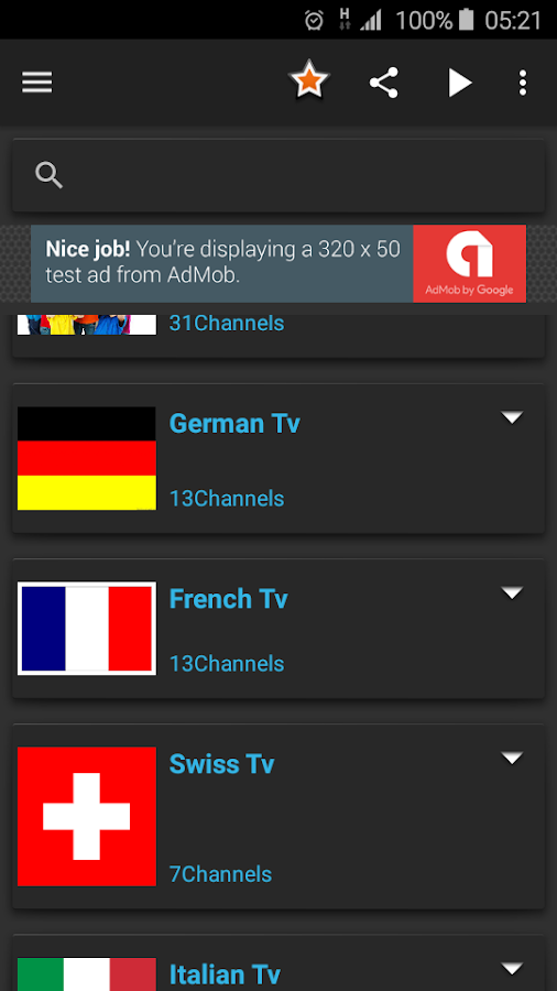 Mobile Live Tv Channels 1 0 1 APK Download - Android cats