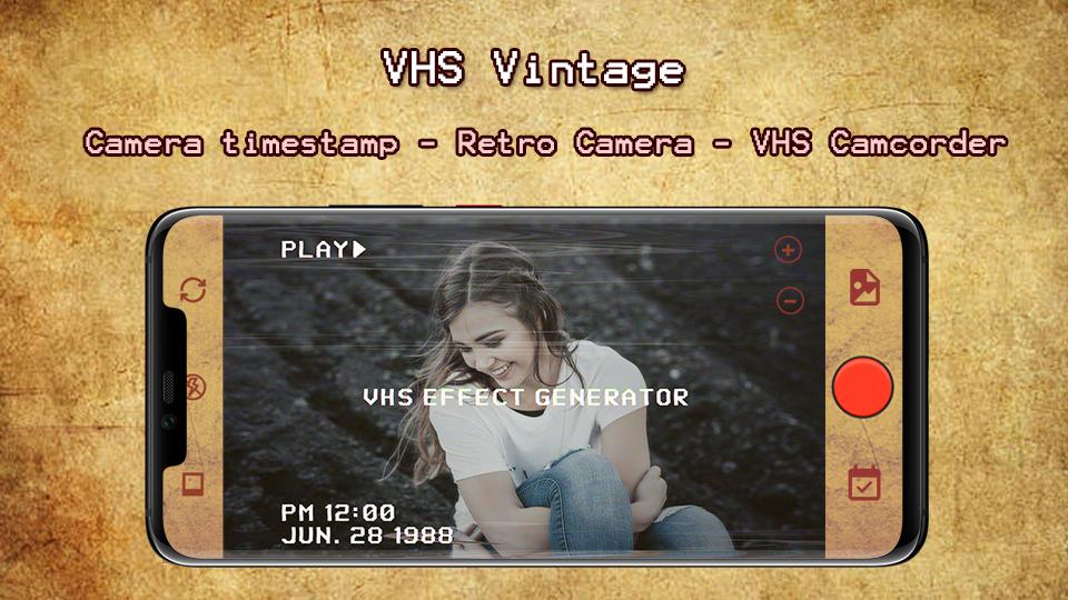 VHS Timestamp - Camcorder Videos - Vintage Camera 1 1 1 APK