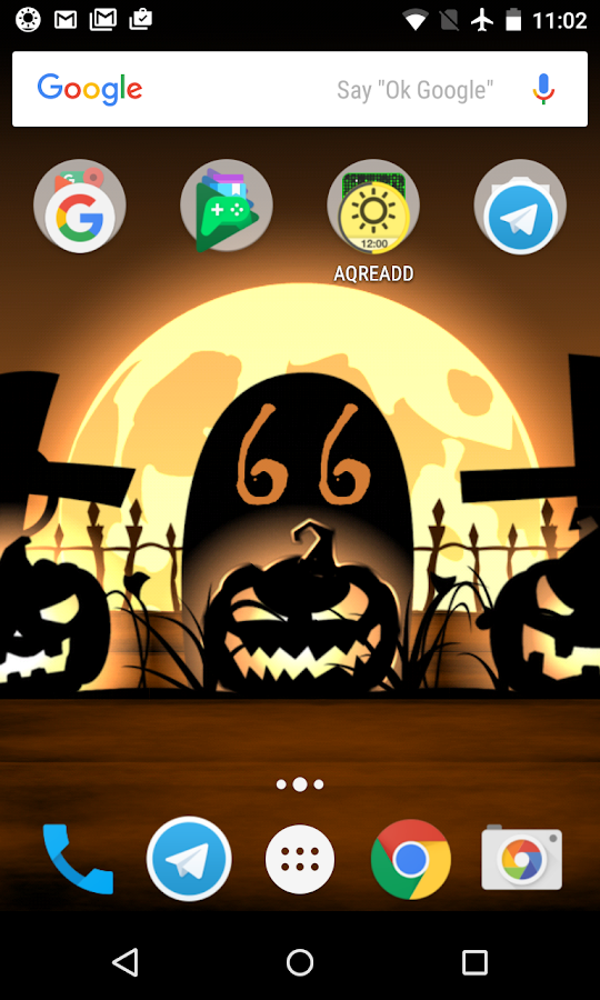 Halloween live wallpaper with countdown and sounds 4 2 1 APK