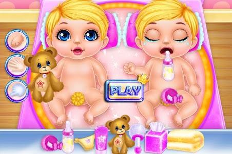 Long Hair Mom Newborn Twins 1.0.0 screenshot 4