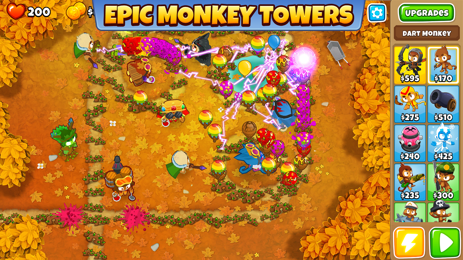 bloons td 5 hacked apk 3.18