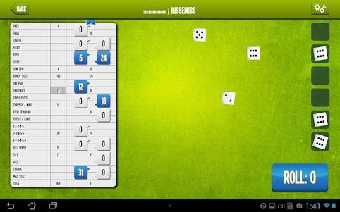 Yatzy Online  screenshot 5