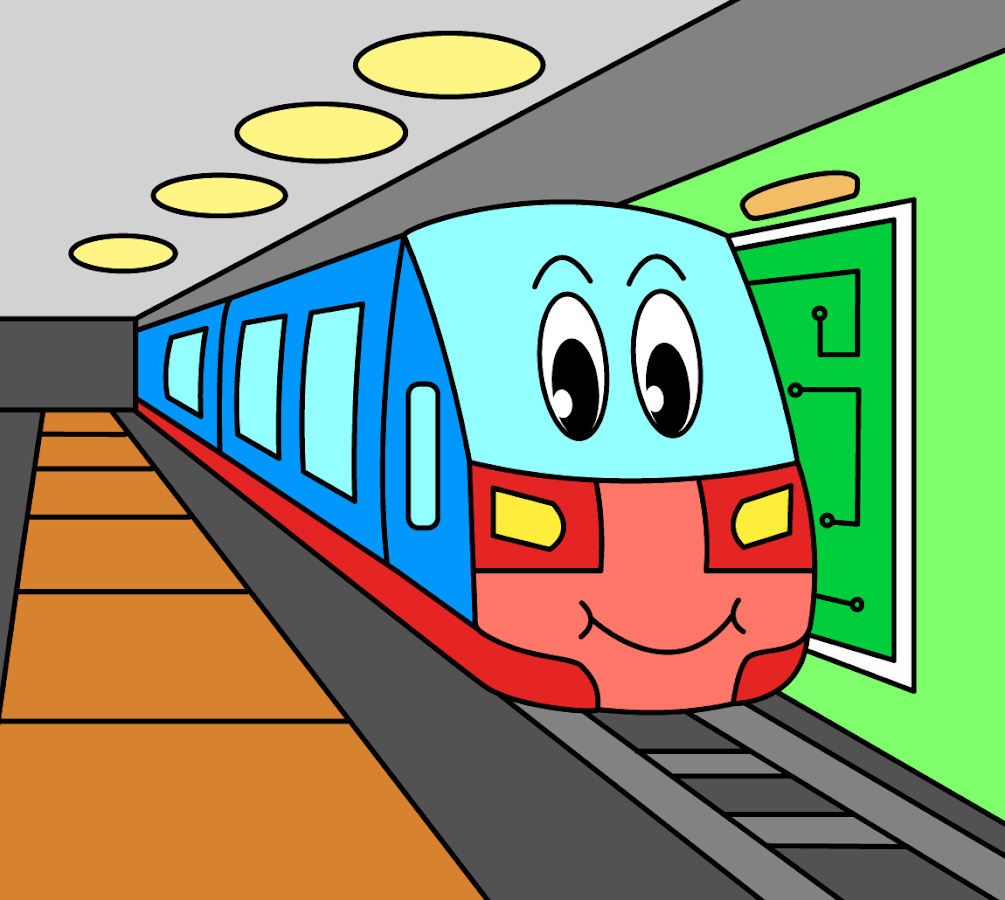 Coloring pages for children : transport 1.0.6 APK Download - Android ...