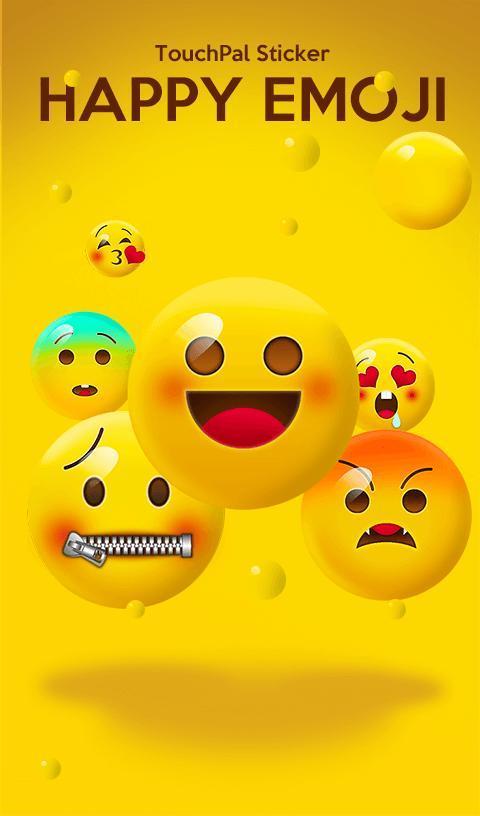 Happy Emoji Keyboard Sticker 6 10 25 APK Download - Android