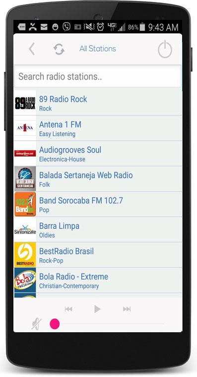 f38bca9bcd1 Brazil Radio Station AM FM 6.0 APK Download - Android Music   Audio Apps