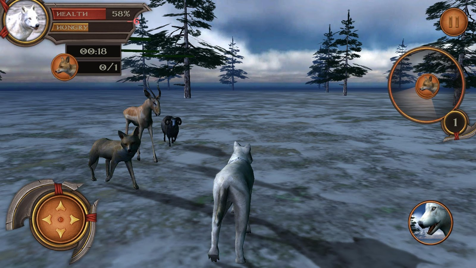 White Wolf Simulator 3D 1 0 0 APK Download - Android