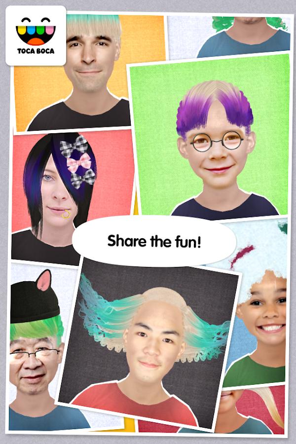 toca hair salon apk mod