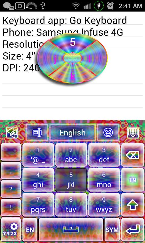 Classic Tie Dye Keyboard skin APK Download - Android