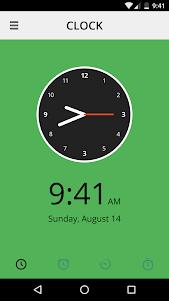 Clock 1.0 screenshot 1