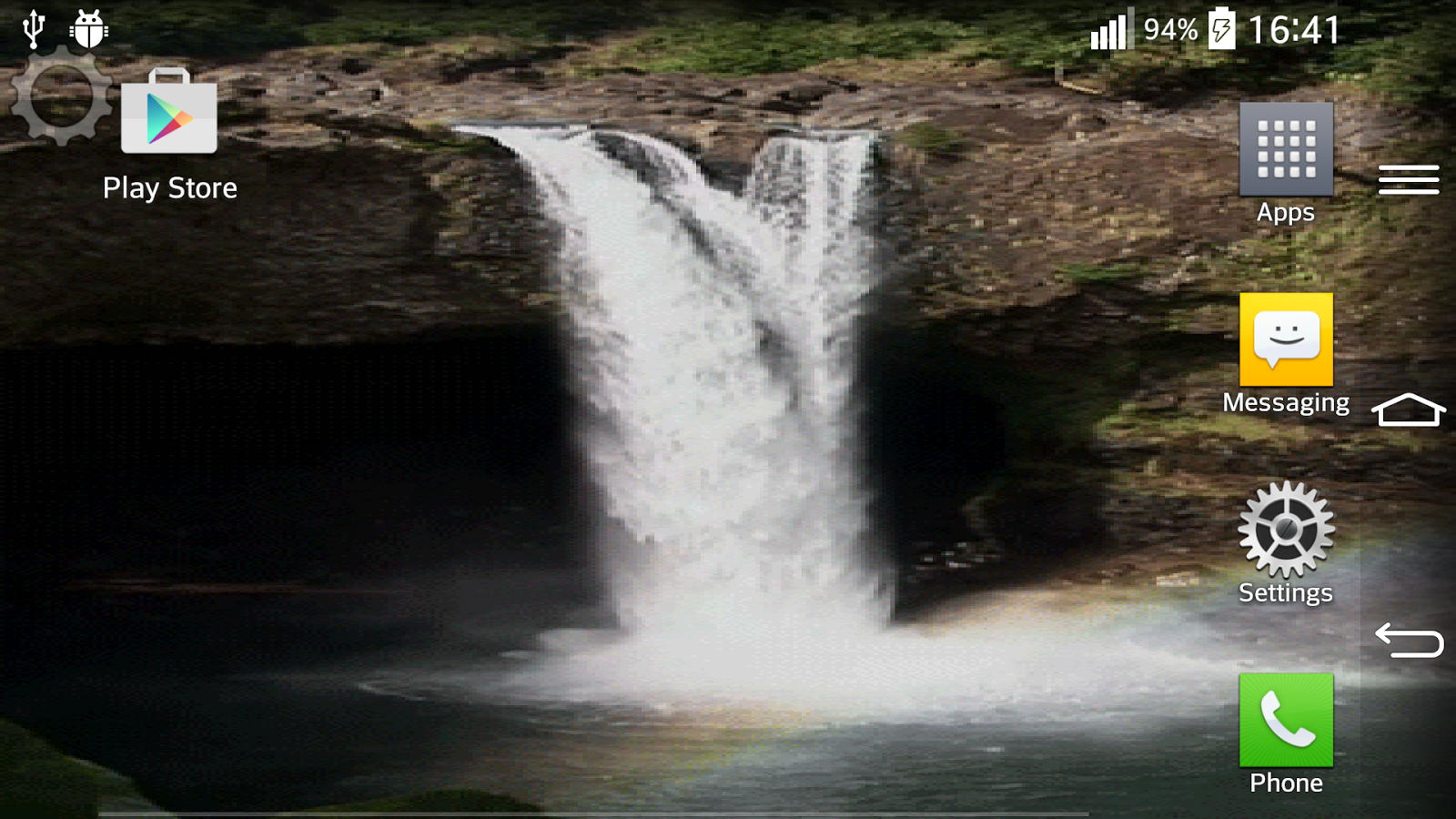 Waterfall Sound Live Wallpaper 42 Screenshot 10