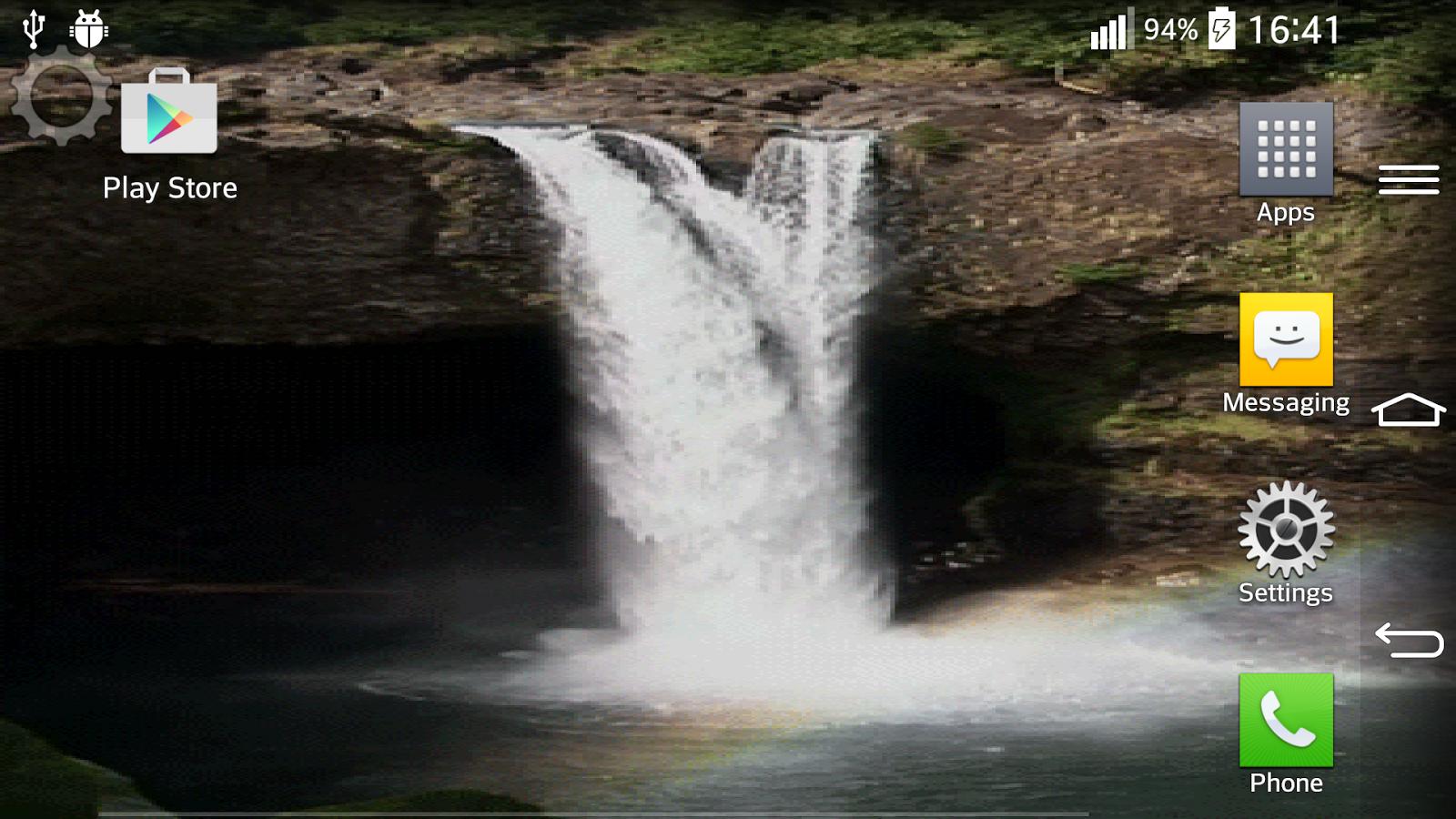 Waterfall Sound Live Wallpaper 41 Screenshot 10