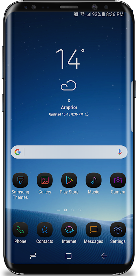 nXt Theme for Samsung Galaxy S8 1 0 8 APK Download - Android