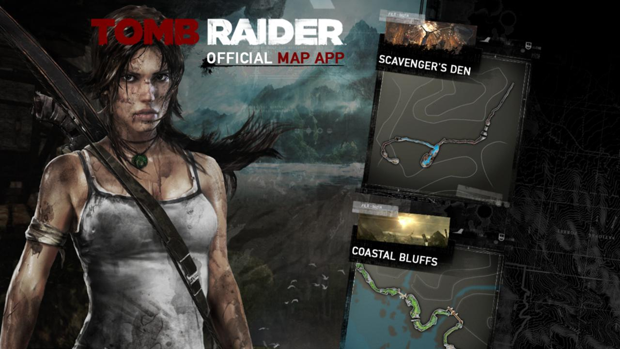 Official Tomb Raider™ Map App APK Download - Android Entertainment Apps