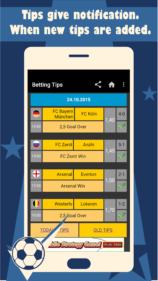 Betting Tips 10 06 APK Download - Android Sports Games