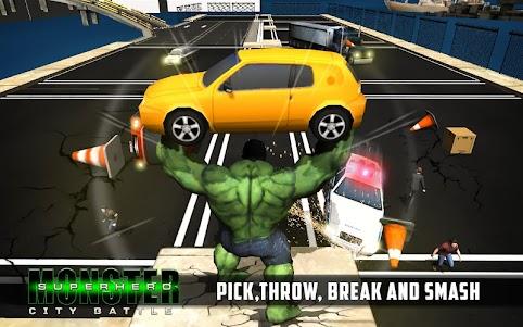Superhero City Battle Monster Fighting 1.4 screenshot 1