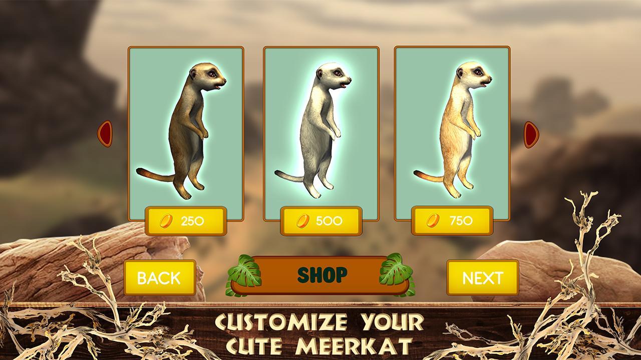 Meerkat Simulator Wild African Life Game  Screenshot