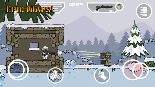 Doodle Army 2 : Mini Militia 5.3.7 screenshot 4