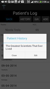 Patient History Taker 2.2.2 screenshot 5