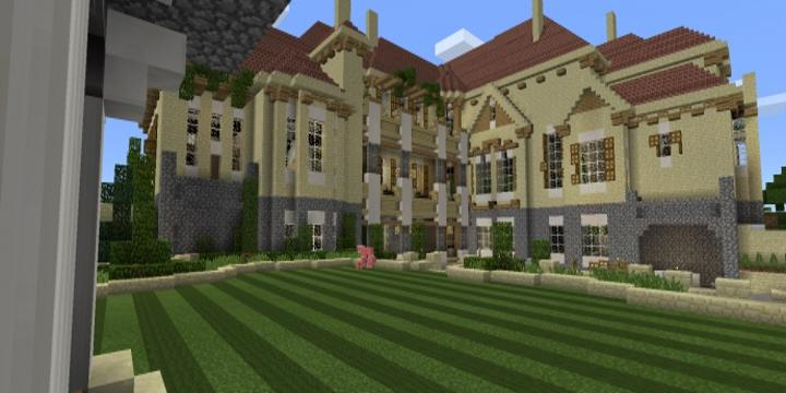 Euro mansion map for Minecraft PE 3 33d APK Download