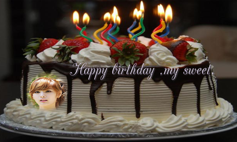 Birthday cake photo frame 1 0 APK Download - Android Entertainment Apps