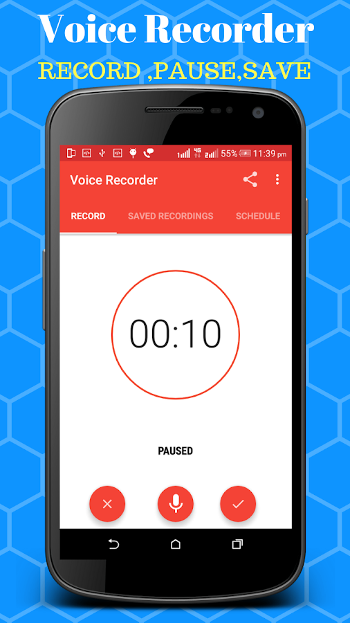 Voice Recorder - Scheduled Timer Audio Recorder 4 0 APK Download