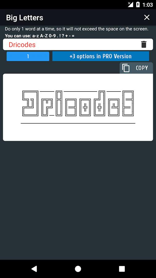 Cool Text Symbols Letters Emojis Nicknames 407 Apk Download