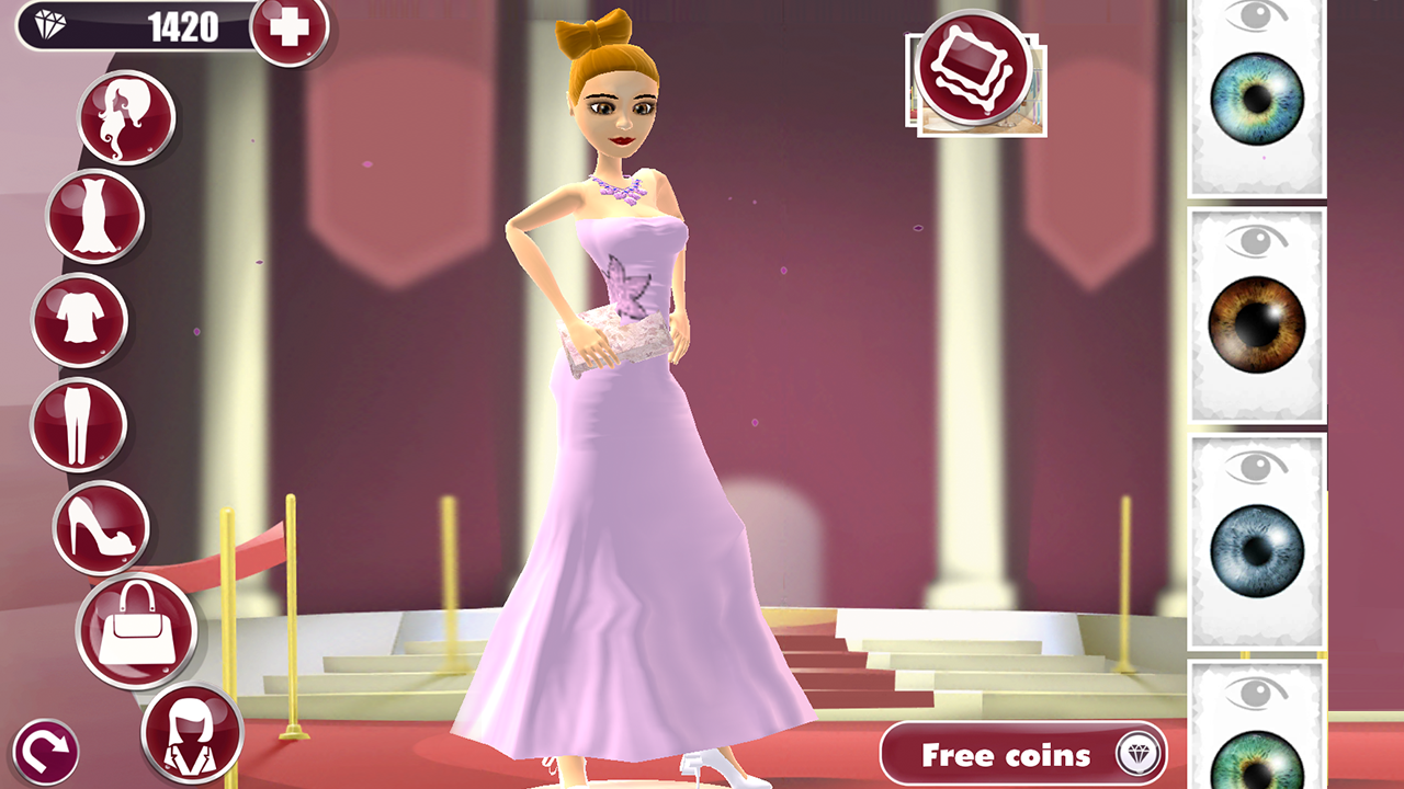 Red Carpet D Dress Up Game