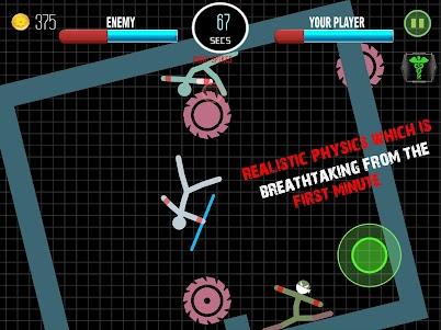 Stickman Fighting Physics Game 1.0 screenshot 3