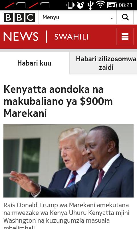 Bbc Swahilimatukio Duniani 106 Apk Download Android News