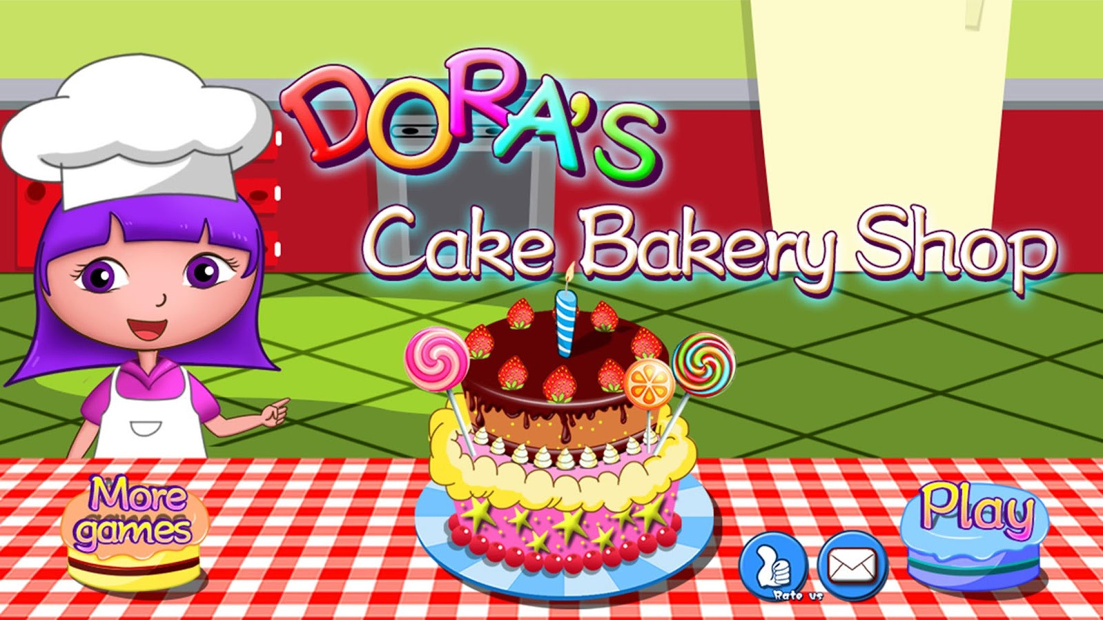 Dora birthday cake bakery shop 1.1 APK Download - Android ...