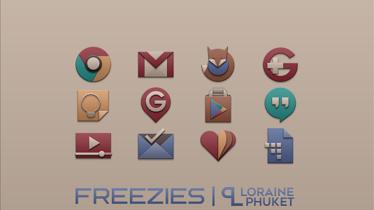 Freezies - Free icon pack 1.0.0 screenshot 2