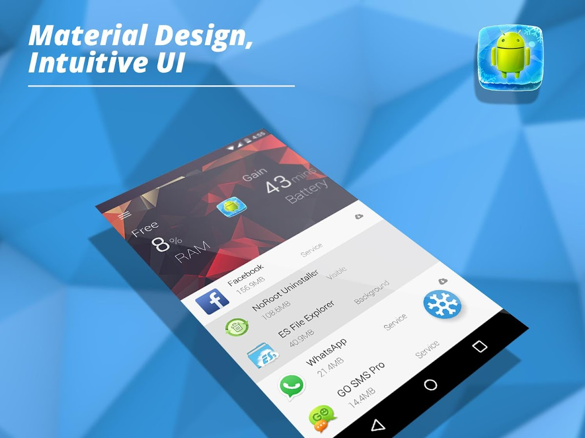 App Freezer: Force stop background apps (No root) 2 0 0 APK
