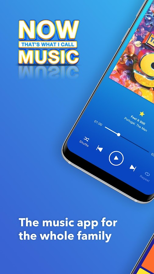 Now Music Screenshot