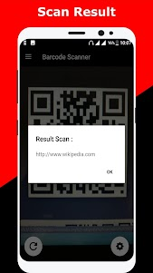 QR code scanner / Barcode scanner 1.2 screenshot 5