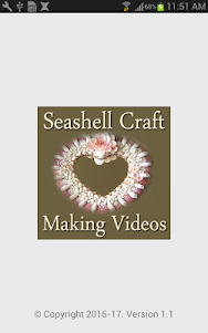 Seashell Craft Making Videos 1.1 screenshot 1